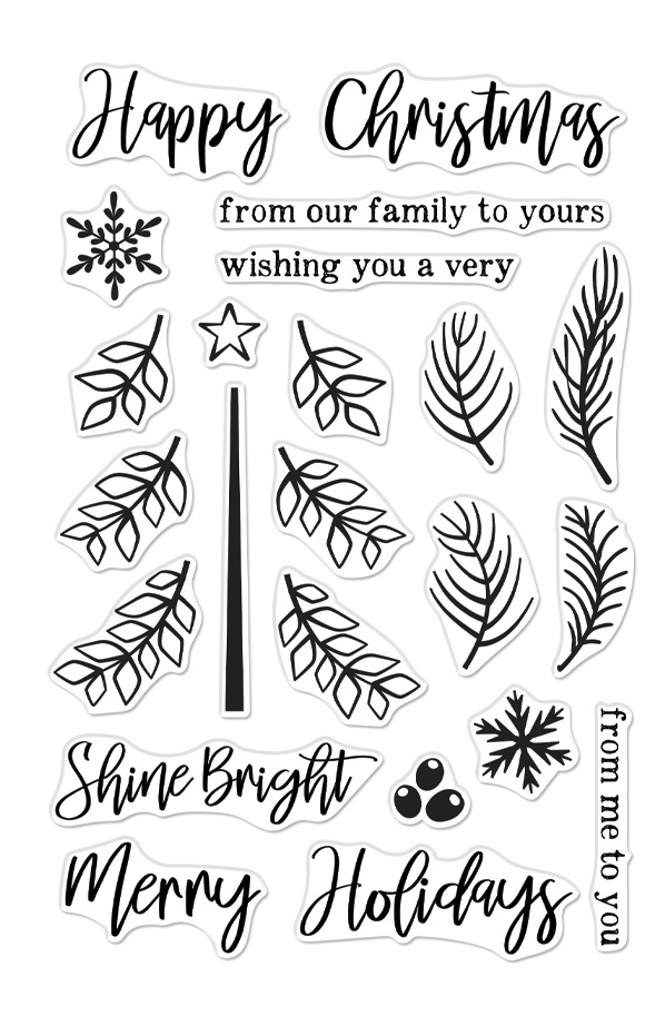 Hero Arts Clear Stamps BUILD A TREE CM376 zoom image