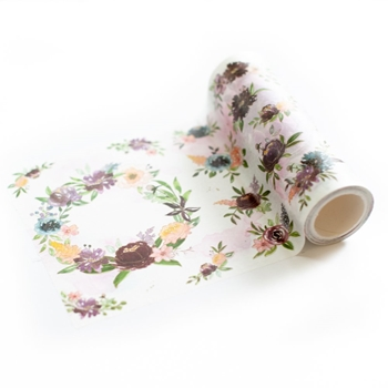 Pinkfresh Studio PAINTED FLORALS Washi Tape pfwa002
