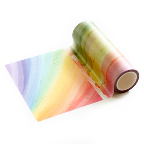 Pinkfresh Studio RAINBOW SPLATTERS Washi Tape pfwa005 Preview Image