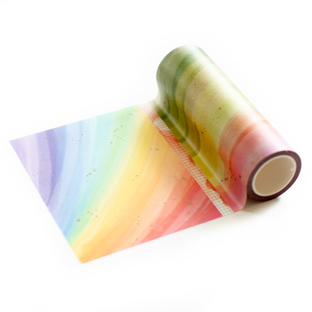 Pinkfresh Studio RAINBOW SPLATTERS Washi Tape pfwa005 zoom image