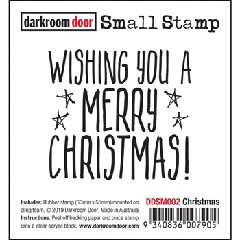 Darkroom Door Cling CHRISTMAS Small ddsm002
