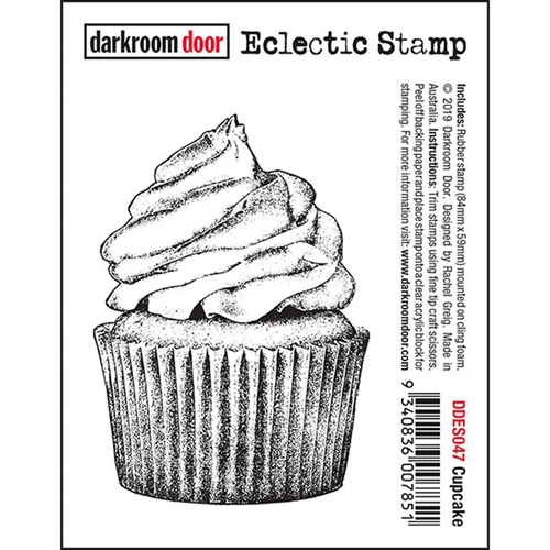 Darkroom Door Cling CUPCAKE Eclectic ddes047 Preview Image