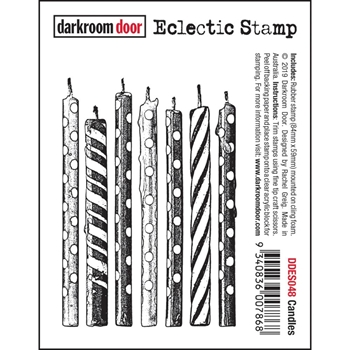 Darkroom Door Cling CANDLES Eclectic ddes048