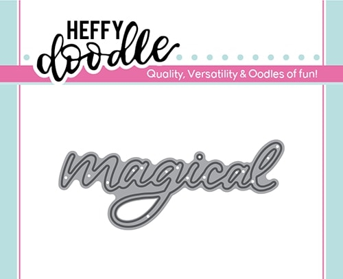 Heffy Doodle MAGICAL Dies hfd0151 Preview Image