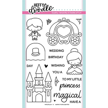 Heffy Doodle HAPPILY EVER CRAFTER Clear Stamps hfd0156