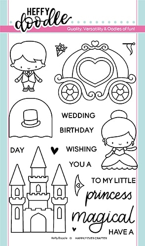 Heffy Doodle HAPPILY EVER CRAFTER Clear Stamps hfd0156 zoom image