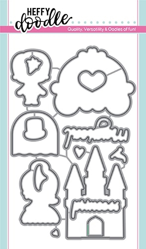 Heffy Doodle HAPPILY EVER CRAFTER Dies hfd0157 Preview Image