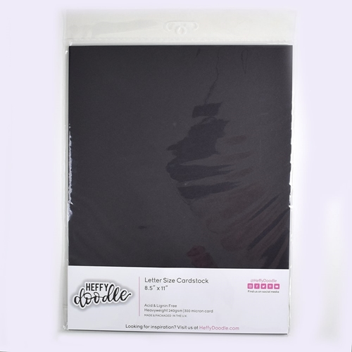 Heffy Doodle OREO CRUNCH Coloured Cardstock hfd0214 Preview Image