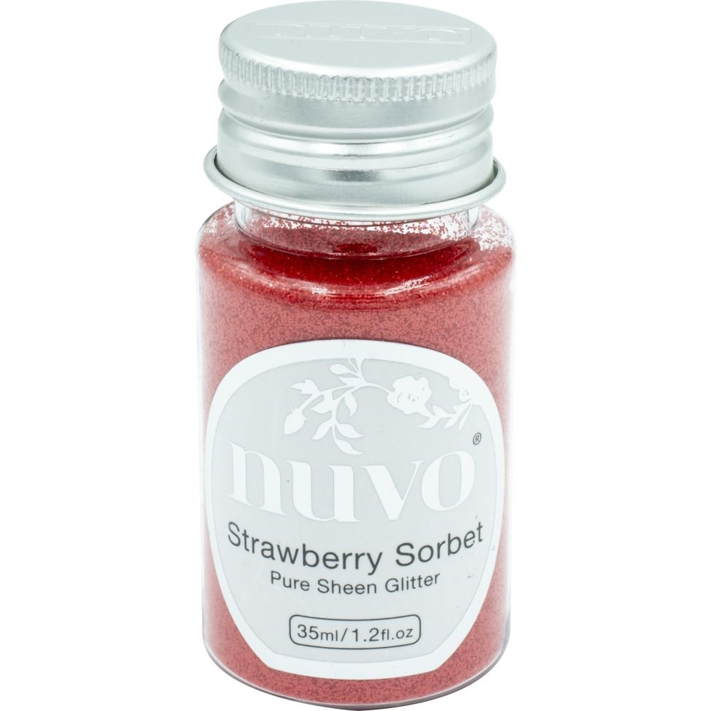 Tonic STRAWBERRY SORBET Nuvo Pure Sheen Glitter 1116n zoom image