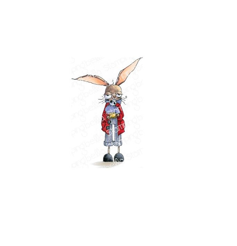 Stamping Bella Cling Stamp ODDBALL MARCH HARE eb835* zoom image