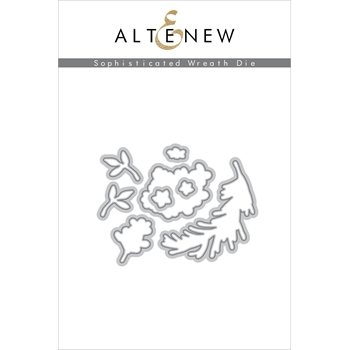 Altenew SOPHISTICATED WREATH Dies ALT3389