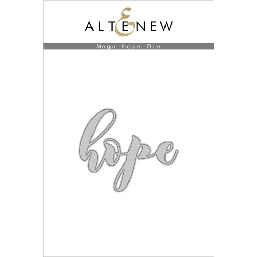 Altenew MEGA HOPE Die ALT3380 Preview Image