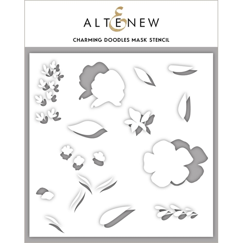 Altenew CHARMING DOODLES Stencil ALT3371 Preview Image