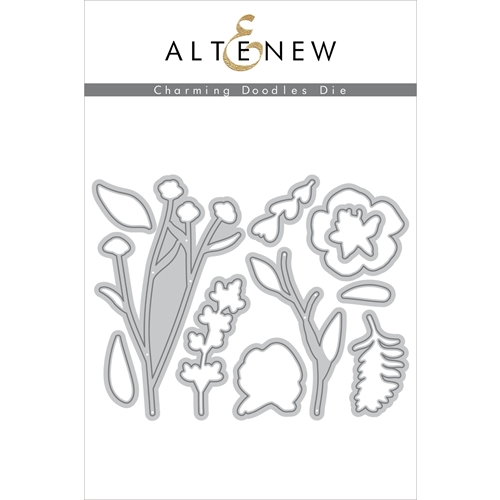 Altenew CHARMING DOODLES Dies ALT3370 Preview Image