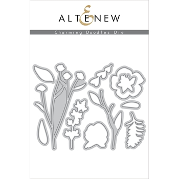 Altenew CHARMING DOODLES Dies ALT3370