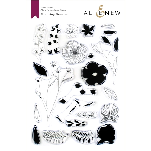 Altenew CHARMING DOODLES Clear Stamps ALT3369 Preview Image