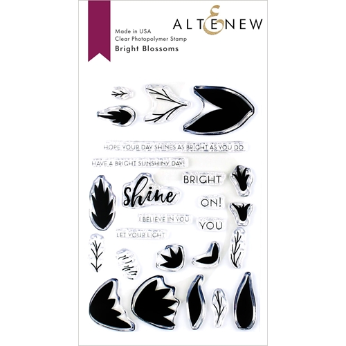 Altenew BRIGHT BLOSSOMS Clear Stamps ALT3366 Preview Image