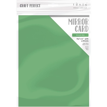 Tonic SMOOTH MINT Mirror Card Cardstock 9465e