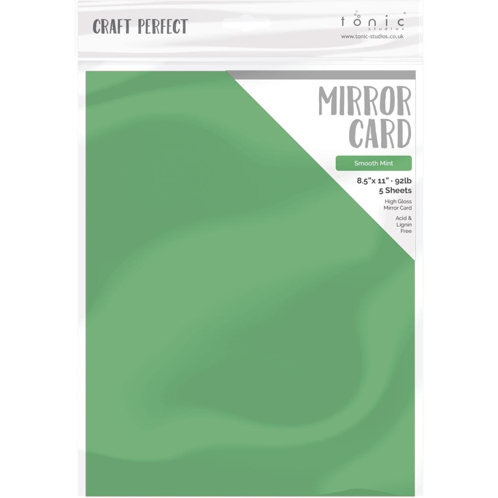 Tonic SMOOTH MINT Mirror Card Cardstock 9465e zoom image