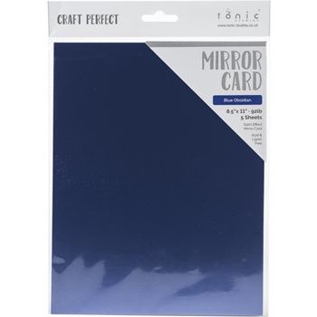 Tonic BLUE OBSIDIAN Mirror Card Cardstock 9494e