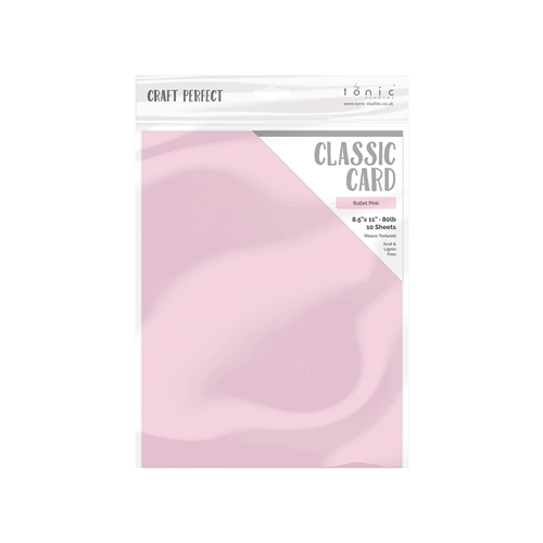 Tonic BALLET PINK Craft Perfect Classic Weave Cardstock 9689e Preview Image