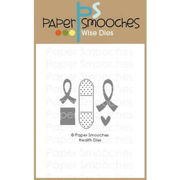 Paper Smooches HEALTH Wise Dies A2D446