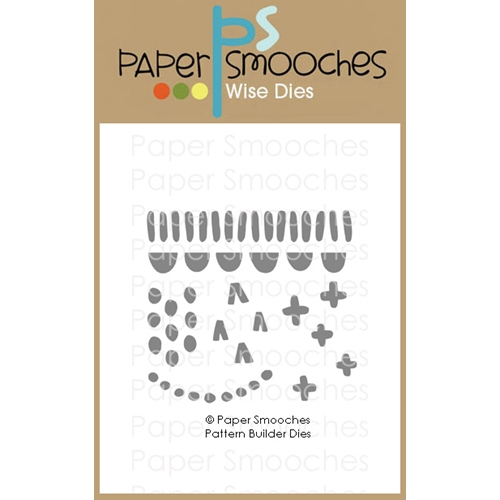Paper Smooches PATTERN BUILDER Wise Dies A2D447 Preview Image