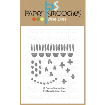 Paper Smooches PATTERN BUILDER Wise Dies A2D447