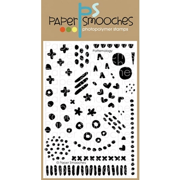Paper Smooches PATTERNOLOGY Clear Stamps J3S310