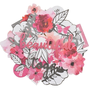 Kaisercraft MAGENTA COLLECTABLES Die Cut Shapes CT965