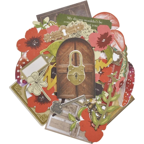Kaisercraft ENCHANTED COLLECTABLES Die Cut Shapes CT966 Preview Image