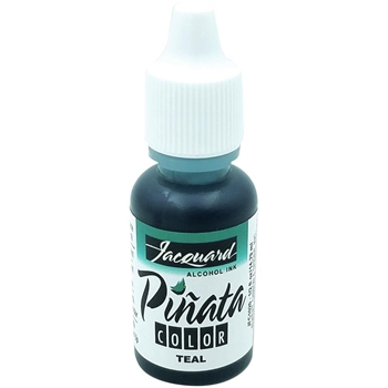 Jacquard TEAL Pinata Color Alcohol Ink 0.5oz jfc1020