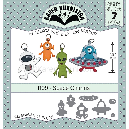 Karen Burniston SPACE CHARMS Dies 1109 Preview Image