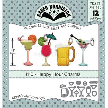 Karen Burniston HAPPY HOUR CHARMS Dies 1110