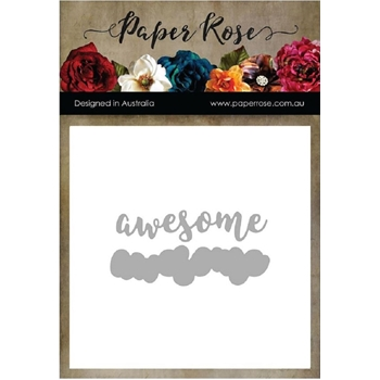 Paper Rose AWESOME Craft Dies 17460
