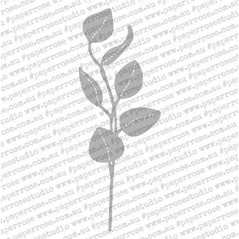 Paper Rose STITCHED EUCALYPTUS BRANCH Craft Die 18081