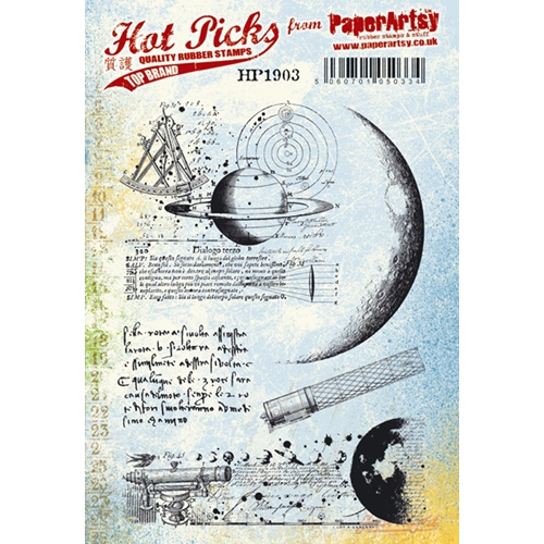 Paper Artsy Stamp HOT PICK 1903 Cling Stamps hp1903 Preview Image