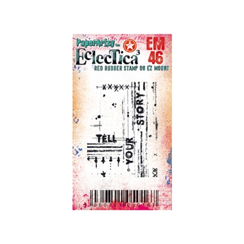 Paper Artsy ECLECTICA3 SETH APTER MINI 46 Cling Stamp em46 Preview Image