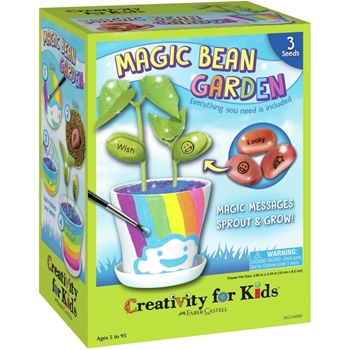 Faber-Castell MAGIC BEAN GARDEN KIT Creativity For Kids 6224000