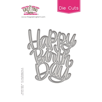 The Greeting Farm HAPPY BIRTHDAY Die Cut TGF503