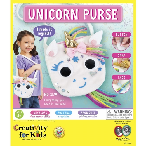 Faber-Castell UNICORN PURSE KIT Creativity For Kids 6211000 Preview Image