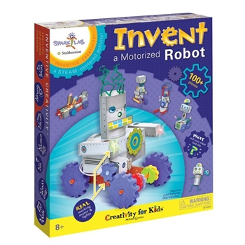 Faber-Castell INVENT A MOTORIZED ROBOT KIT Creativity For Kids 3613000*