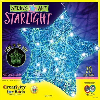 Faber-Castell STRING ART STAR LIGHT KIT Creativity For Kids 6113000