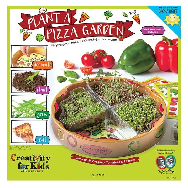 Faber-Castell PLANT A PIZZA GARDEN KIT Creativity For Kids 6147000* zoom image
