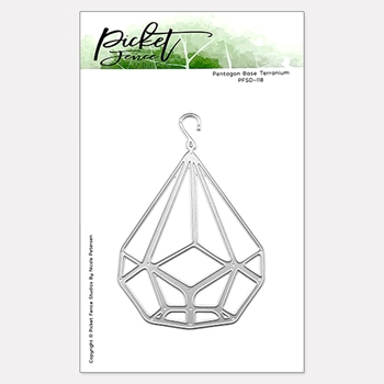 Picket Fence Studios PENTAGRAM BASE TERRARIUM Die pfsd118