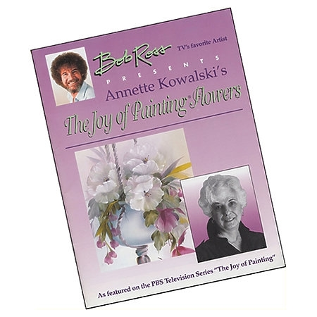 Annette Kowalski THE JOY OF PAINTING FLOWERS Book 060039 Preview Image