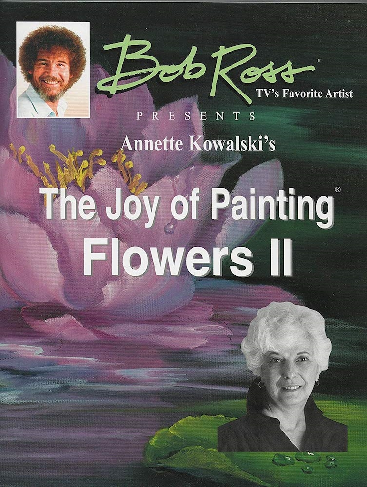 Annette Kowalski THE JOY OF PAINTING FLOWERS VOLUME 2 Book 060084 zoom image