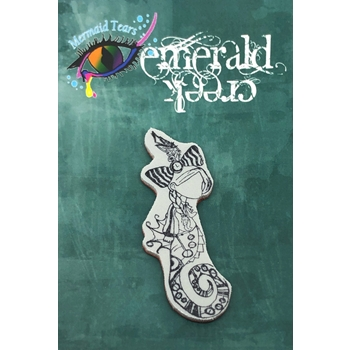 Emerald Creek ADALINE Steampunk Sea Cling Stamp mtssa