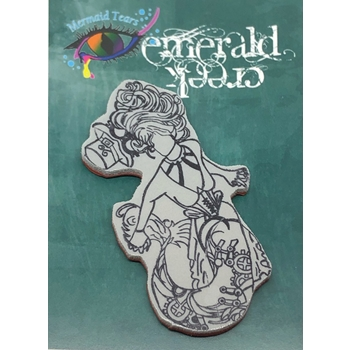Emerald Creek MADAMA UDORA Steampunk Sea Cling Stamp mtssmu