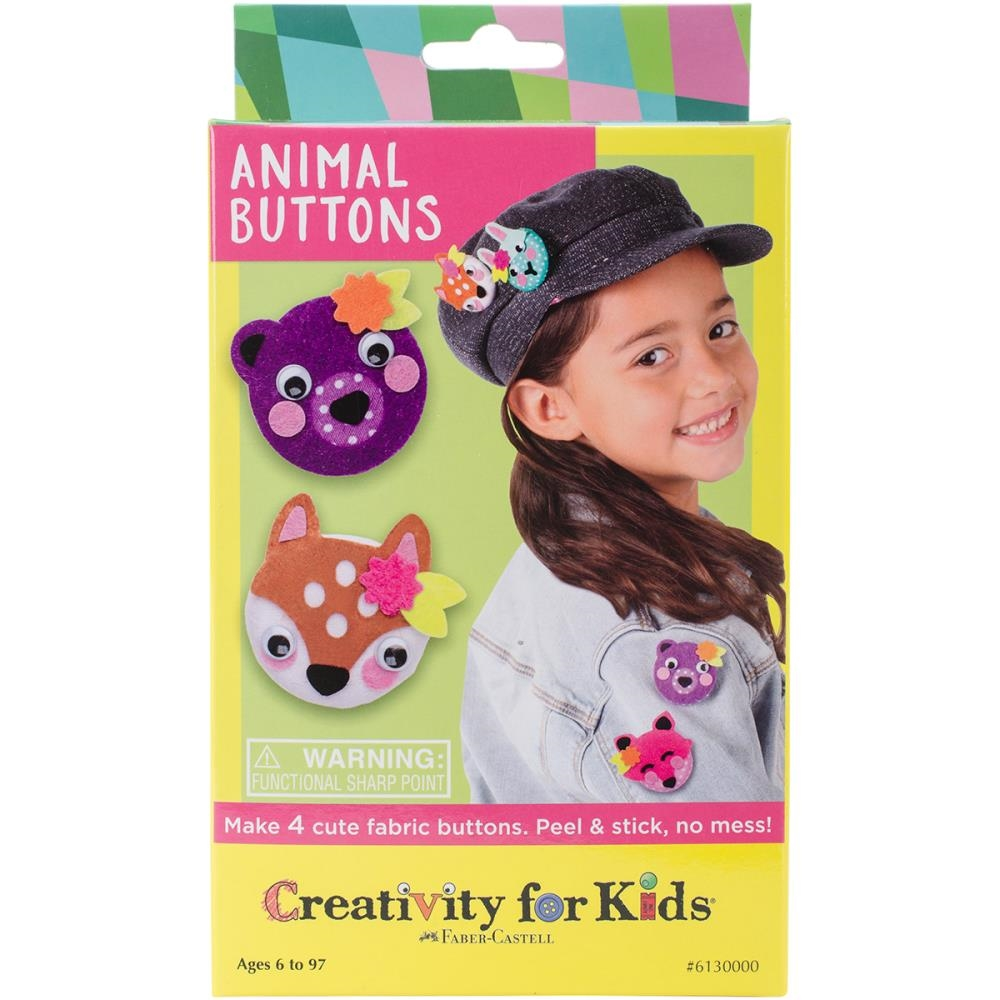 Faber-Castell ANIMAL BUTTONS KIT Creativity For Kids 6130000 zoom image